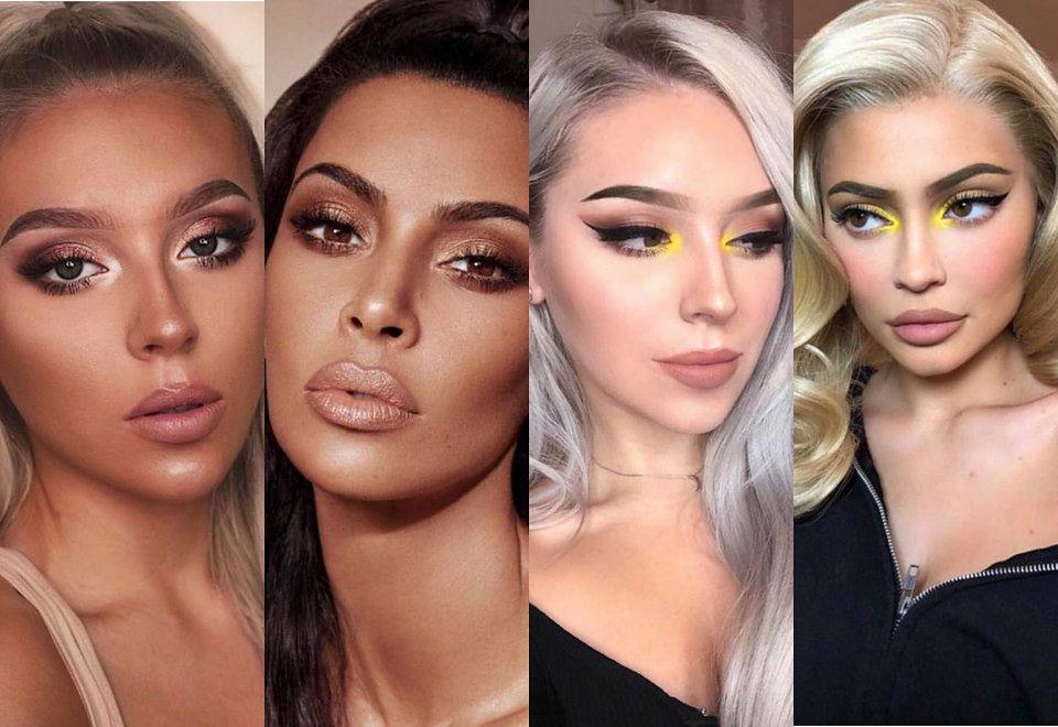 2Instagramerka naśladująca makijaże Kardashianek robi furorę w sieci