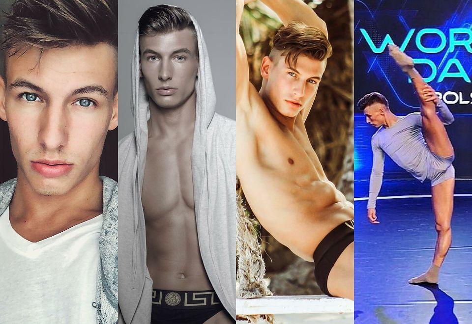 """2Cezary Borowik, wygimnastykowany tancerz z """"World of Dance"""""""
