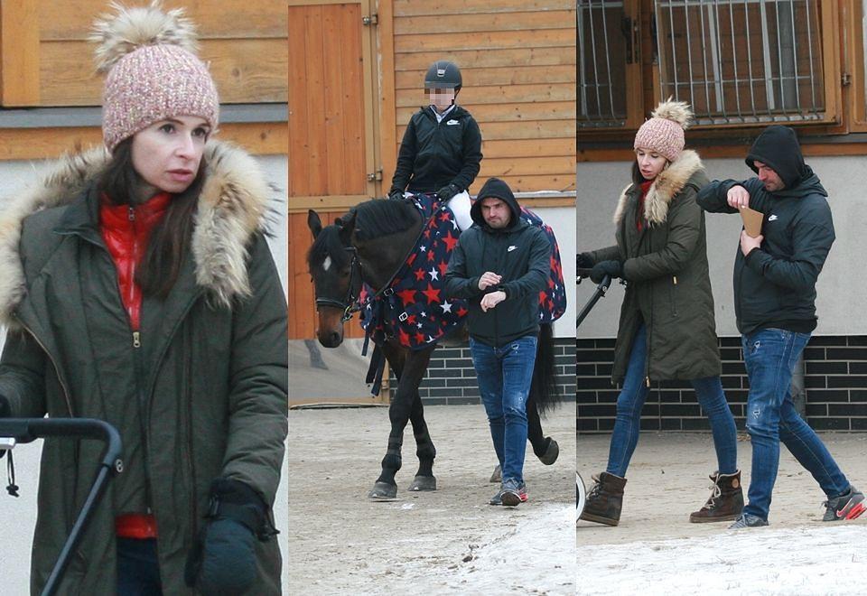 2Kaczyńska i Dubieniecki kibicują córce na zawodach konnych
