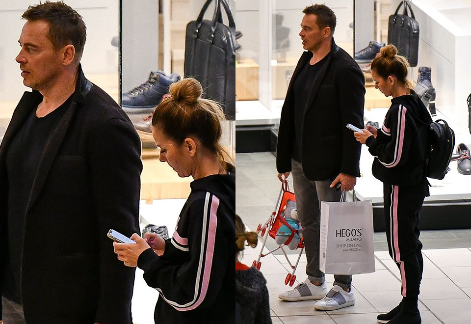 2Tak wyglądają zakupy w galerii z Pauliną Sykut-Jeżyną i jej rodziną