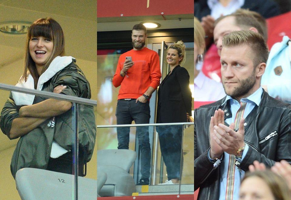 2Gwiazdy na meczu Polska - Macedonia