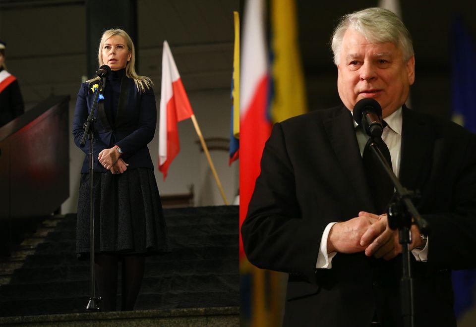 2Elżbieta Bieńkowska i Bogdan Borusewicz