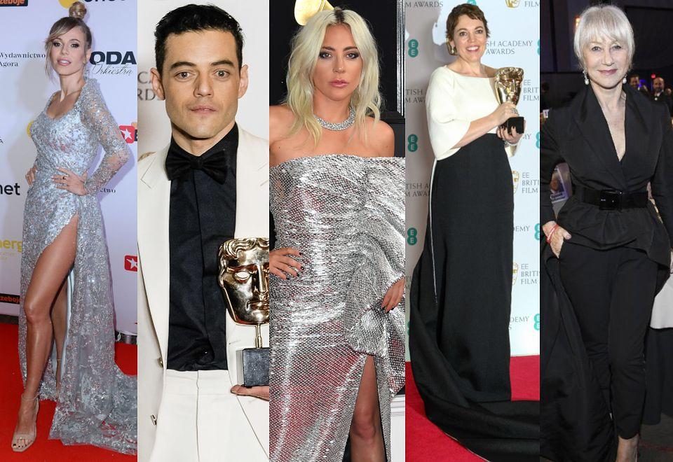 2Najlepsze stylizacje tygodnia: błyszcząca Lady Gaga, elegancka Doda, szarmancki Rami Malek