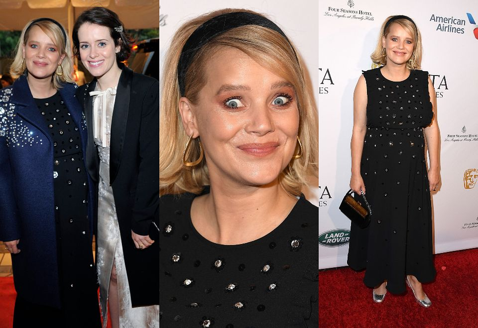 2Joanna Kulig pozuje na gali BAFTA Tea Party w Los Angeles