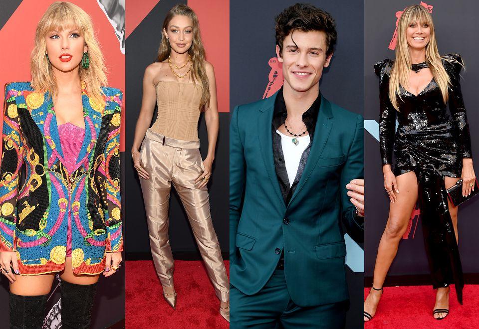 2MTV VMA 2019: Gwiazdy pozują na czerwonym dywanie