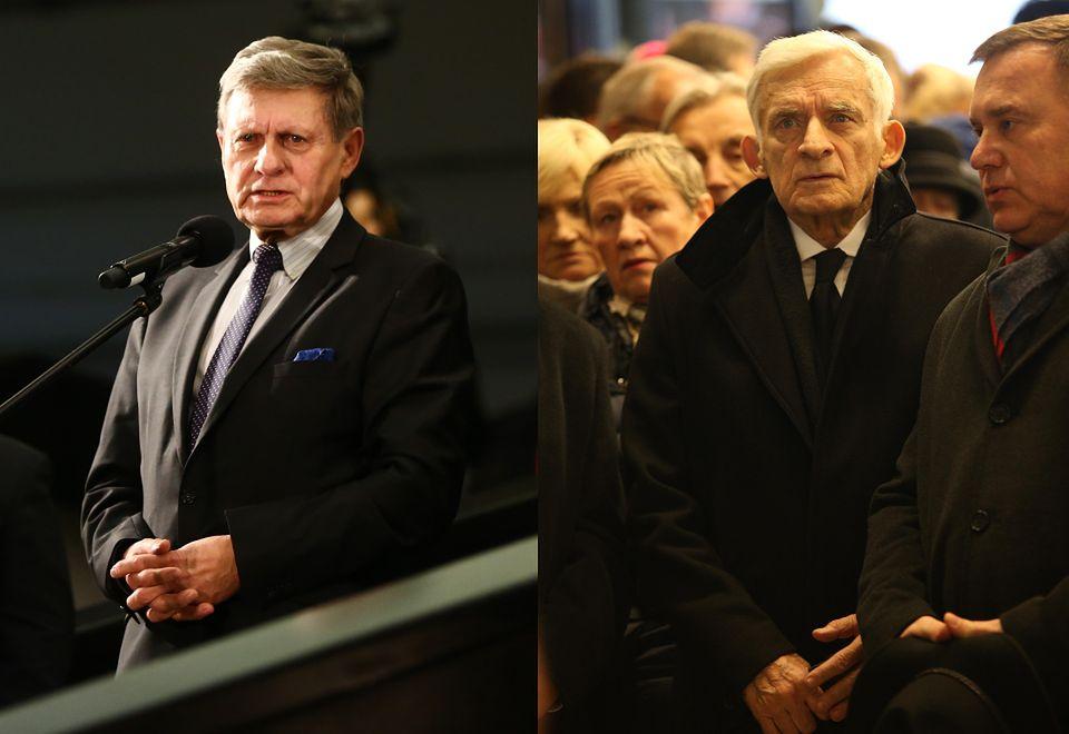 2Leszek Balcerowicz i Jerzy Buzek
