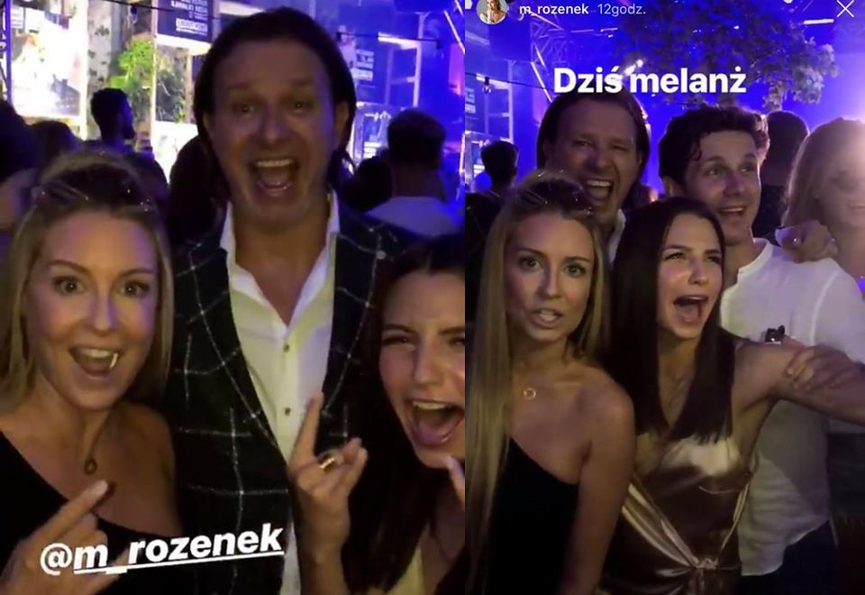 2Gosia Rozenk, Radek Majdan, Julia Wieniawa i Antek Królikowski