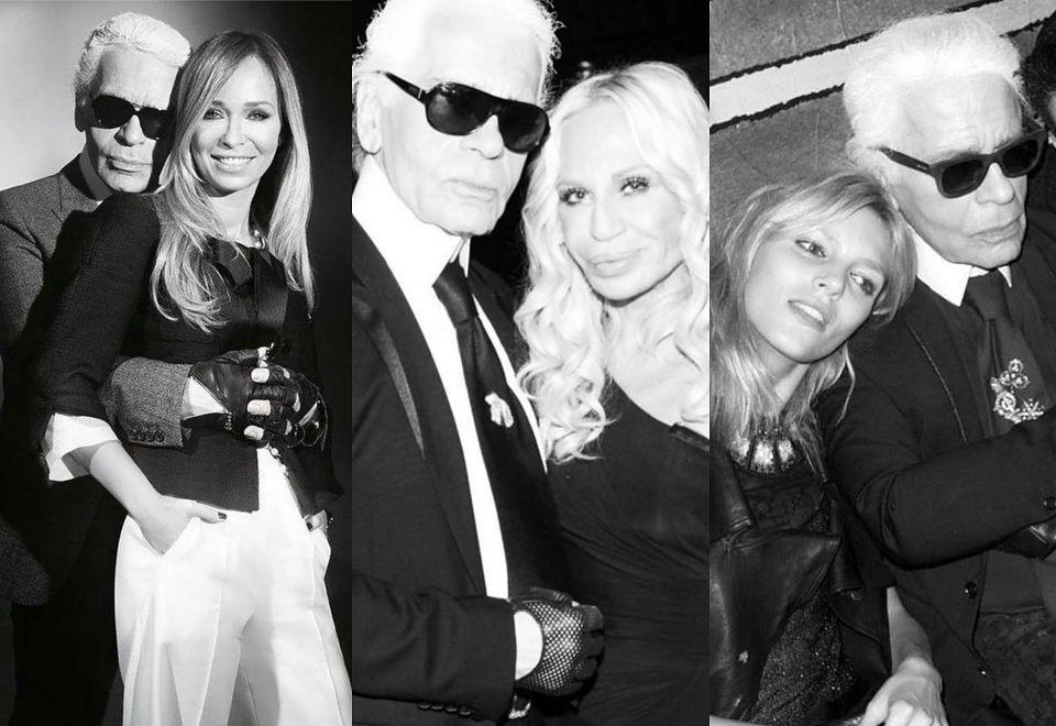 2Karl Lagerfeld nie żyje: gwiazdy żegnają legendarnego projektanta