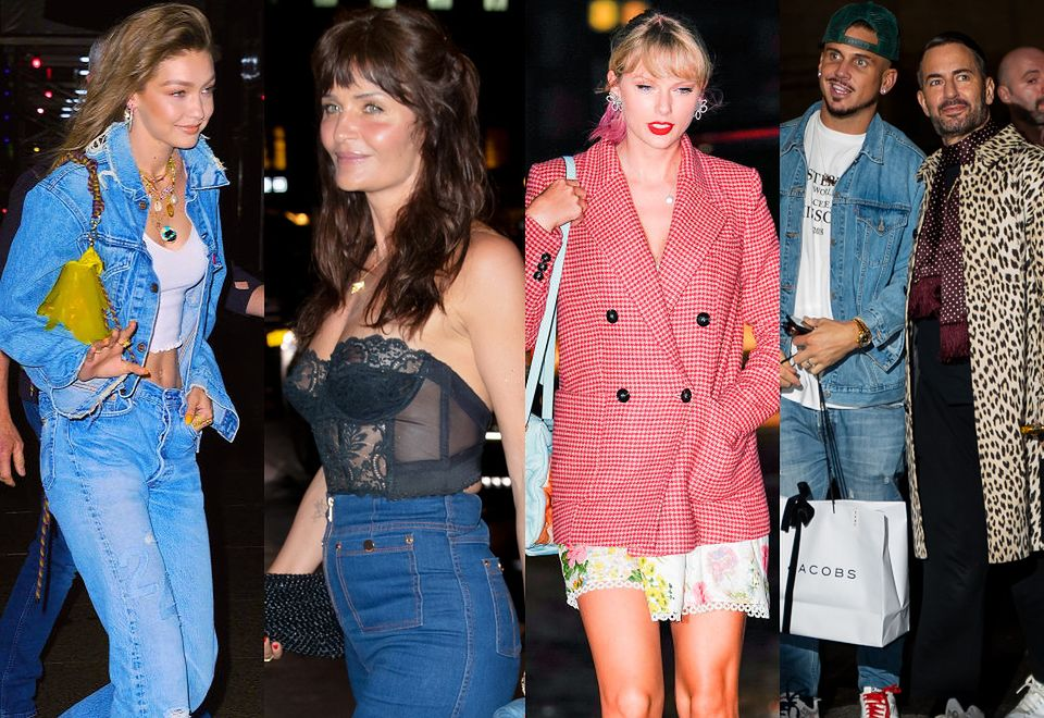 2Śmietanka show biznesu na nowojorskich urodzinach Gigi Hadid: Marc Jacobs z mężem, Helena Christensen w seksownej bieliźnie, Taylor Swift z kocią torebką