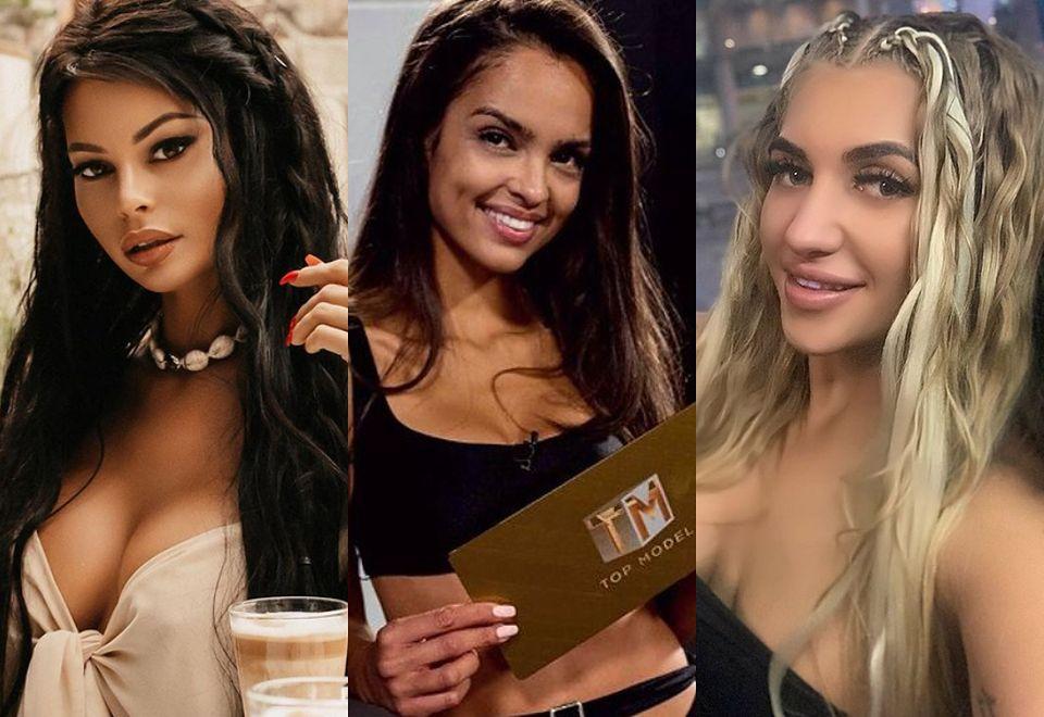 """2Oto """"skromne"""" koleżanki """"wstydliwej"""" Klaudii El Dursi z """"Top Model"""": Natalia Siwiec, Justyna Gradek, Monika Pietrasińska..."""