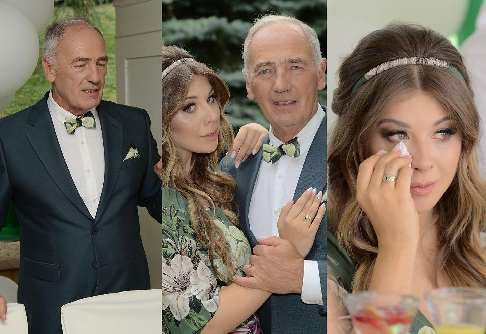 2Romantyczny ślub Karola Strasburgera i o 37 lat młodszej Małgorzaty Weremczuk