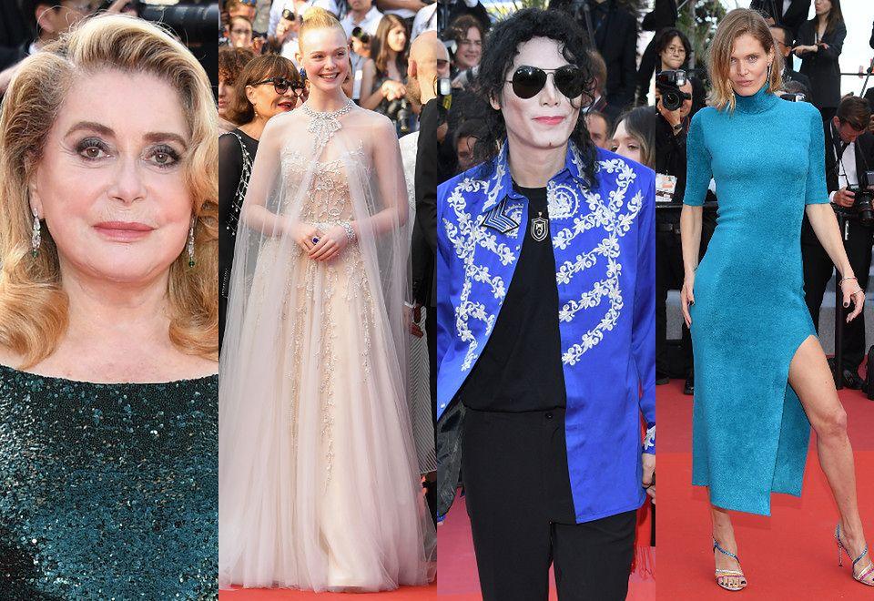 2Catherine Deneuve, Elle Fanning, sobowtór Michaela Jacksona i Małgosia Bela