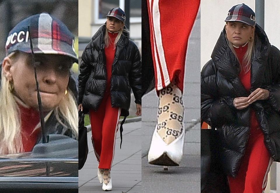 3a3214636ef96f ZDJĘCIA TYGODNIA: Horodyńska rozpacza w skarpetkach Gucci, Paris ...