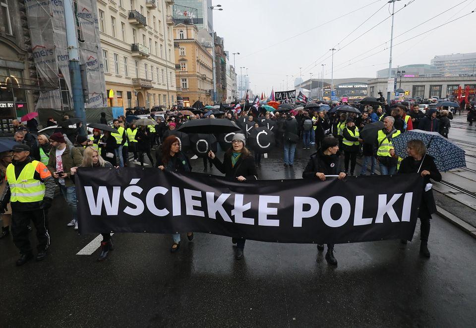 2Czarny Protest w Warszawie