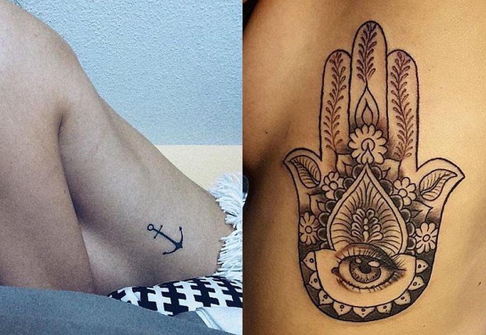 Nowa Moda Na Tatuaże Sideboob Tattoo Zdjęcia Pudelek
