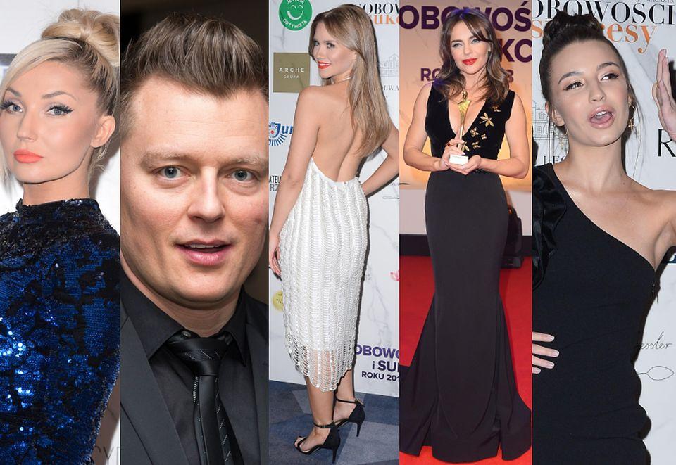 """2""""Osobowości i Sukcesy 2018 Roku"""": Cleo, Kaczorowska, Herbuś i Wieniawa"""