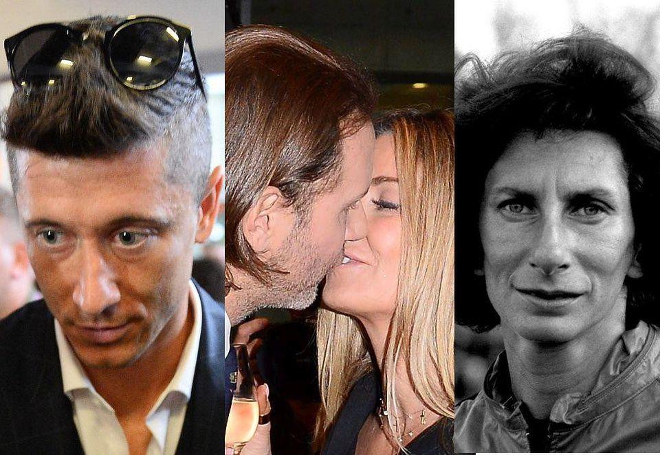 2ZDJĘCIA TYGODNIA: Przetakiewicz potwierdza związek, Halejcio w dziwnej czapce i całuśna Kołakowska