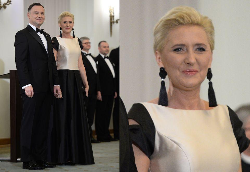 2Agata i Andrzej Dudowie zorganizowali przyjęcie noworoczne dla korpusu dyplomatycznego