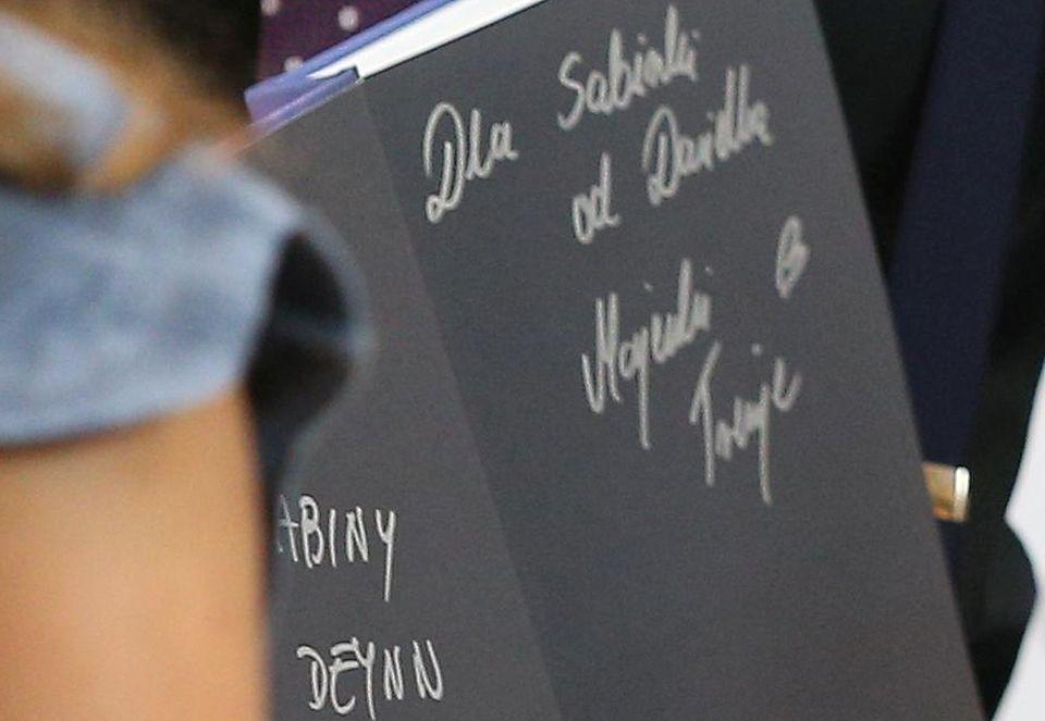 2Marita i Danielek promują swoją książkę