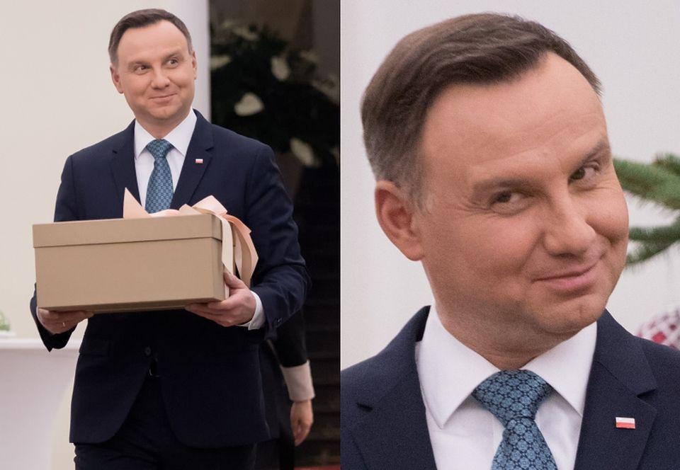 2Para prezydencka wspiera Szlachetną Paczkę