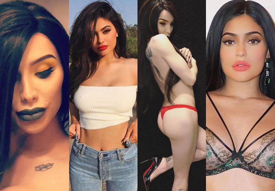 2Transseksualistka wydała 200 tysięcy, aby upodobnić się do Kylie Jenner