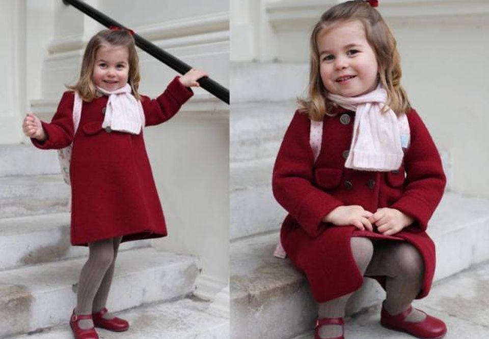 2Księżniczka Charlotte poszła do przedszkola