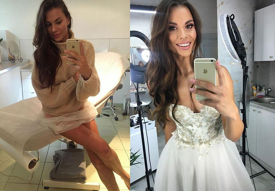 2Jej Instagram pełen jest selfie w lustrze