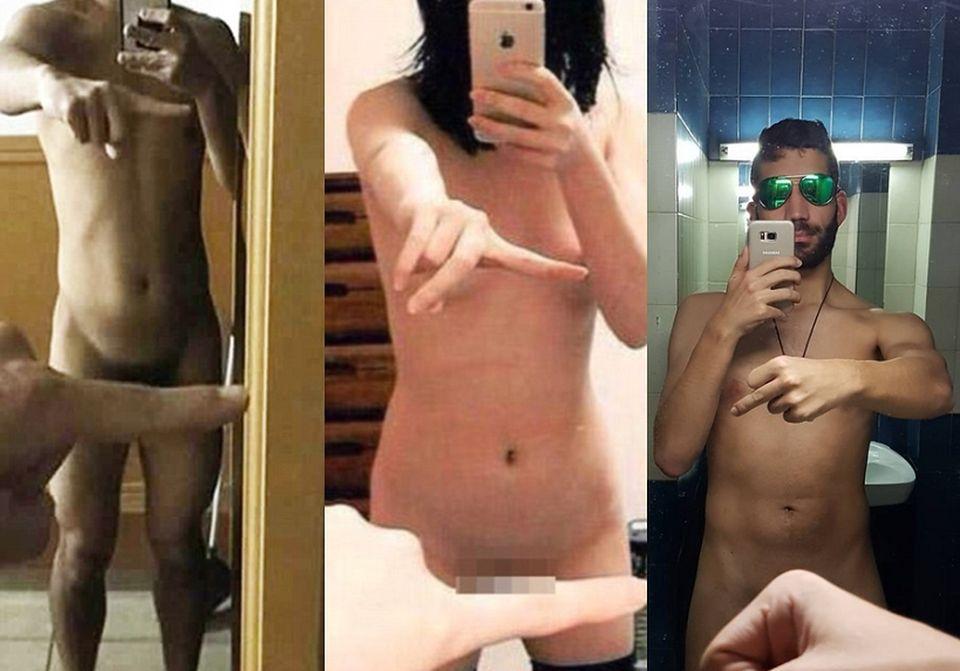2Od kilku dni do mediów społecznościowych trafiają zdjęcia, na których internauci pokazują nagie ciała, zasłonięte jedynie palcem