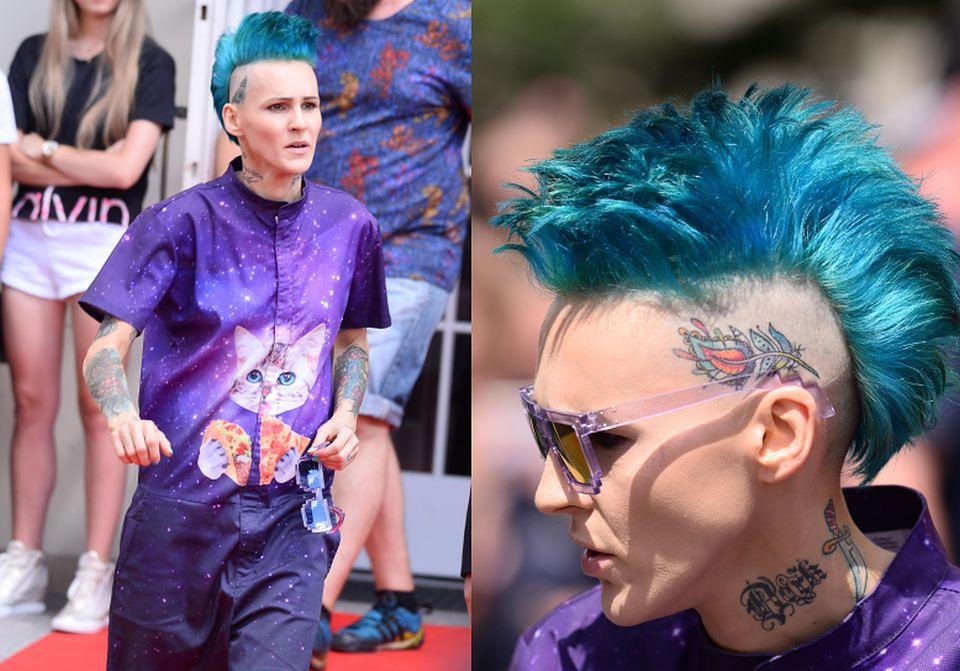 Kosmiczna Chylińska Pokazuje Tatuaże Na Głowie Zdjęcia