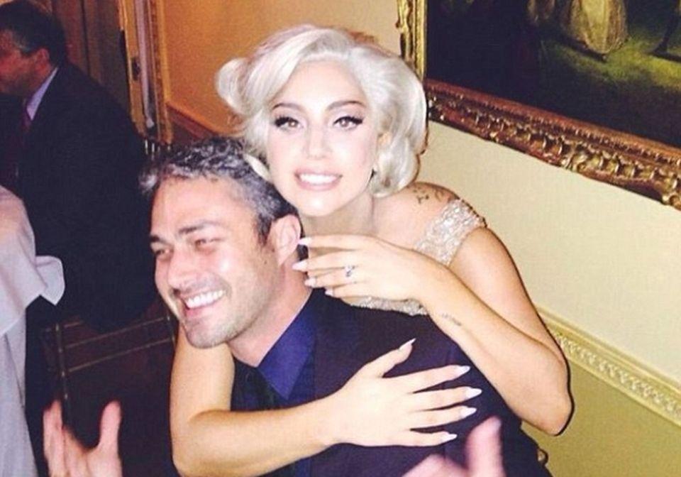 2Lady Gaga i Taylor Kinney