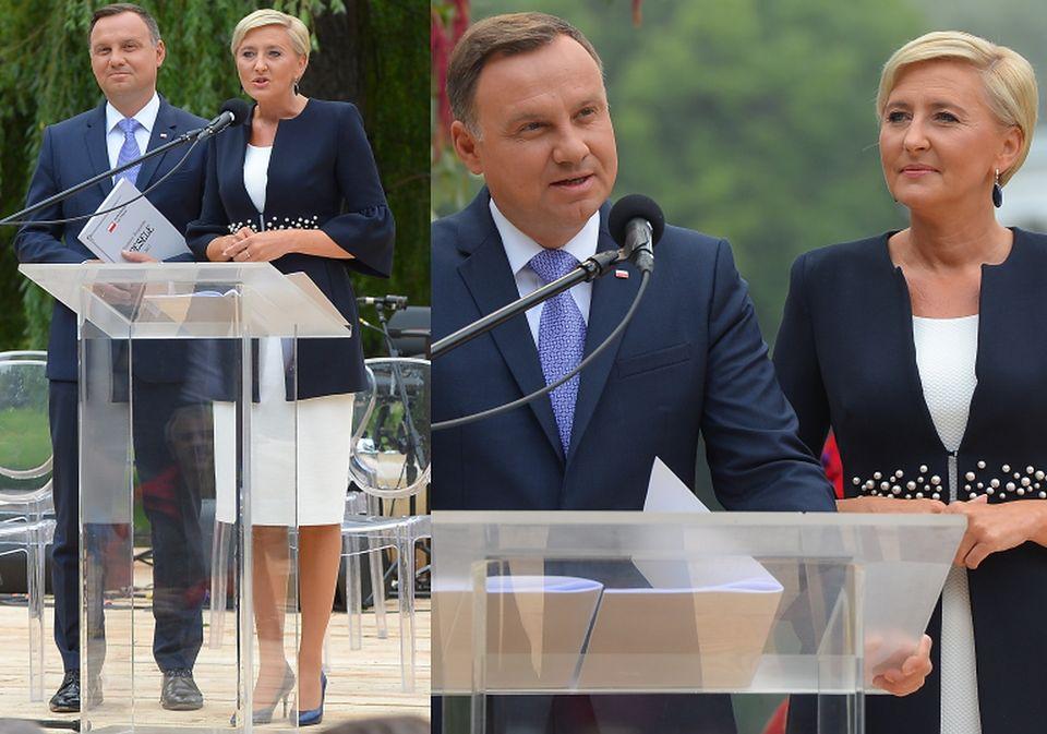 "2Para prezydencka czyta ""Wesele"""