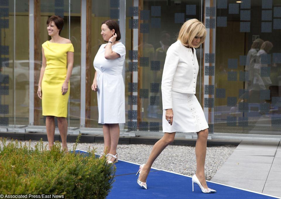2Brigitte vs Melania na szczycie NATO. Która jest piękniejsza?