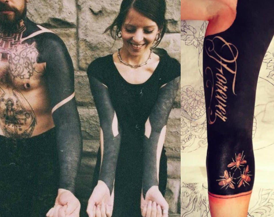 Nowa Moda Na Tatuaże Blackout Tattoo Zdjęcia Pudelek