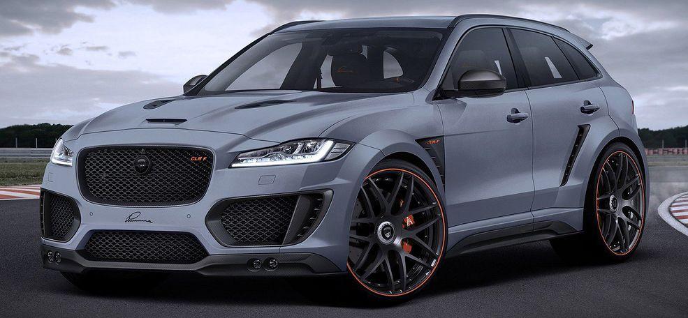 Jaguar F Pace Clr F Od Lumma Design Autokult Pl
