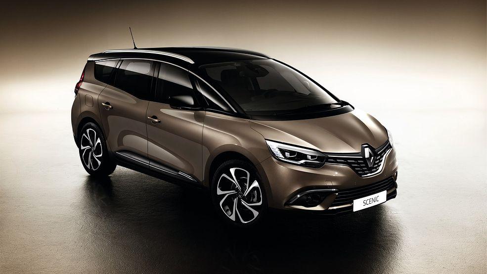 Renault już przedstawiające Espace'a pokazało, że nie chce, by jego vany były typowymi przedstawicielami tego segmentu. Są one zawieszone nieco wyżej niż konkurencja, by trafić w gust osób, którym podobają się SUV-y, ale mimo to chcą samochodu bardziej konwencjonalnego. W Grand Scénicu prześwit wynosi aż 160 mm.