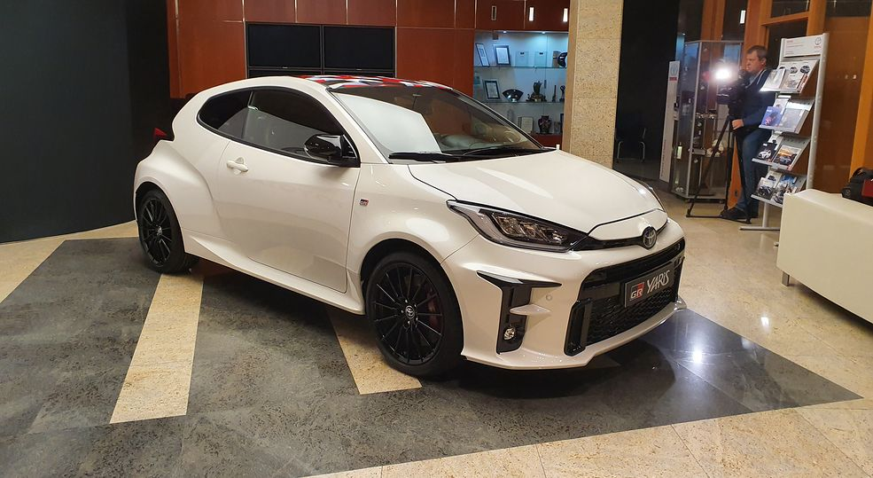 Toyota GR Yaris to nie Toyota Yaris
