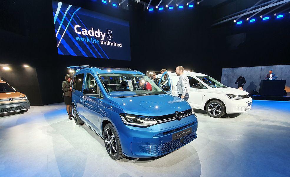 Nowy VW Caddy 5 generacji