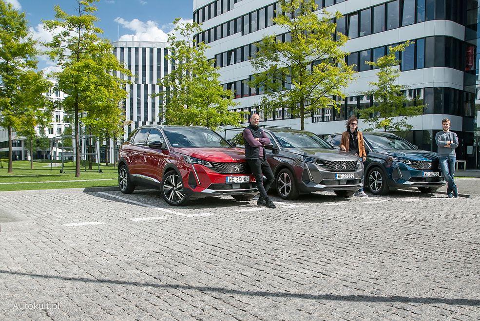 Platformą testową był Peugeot 3008, którego można kupić zarówno z silnikiem Diesla, z silnikiem benzynowym, jak i w wydaniu hybrydowym.