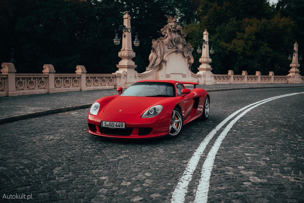 Porsche Carrera GT w Warszawie (2004)
