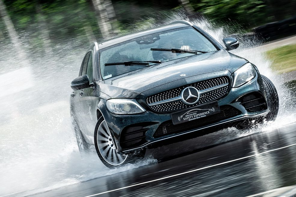 Mercedes-Benz Safety Experience (fot. Mercedes-Benz Polska)