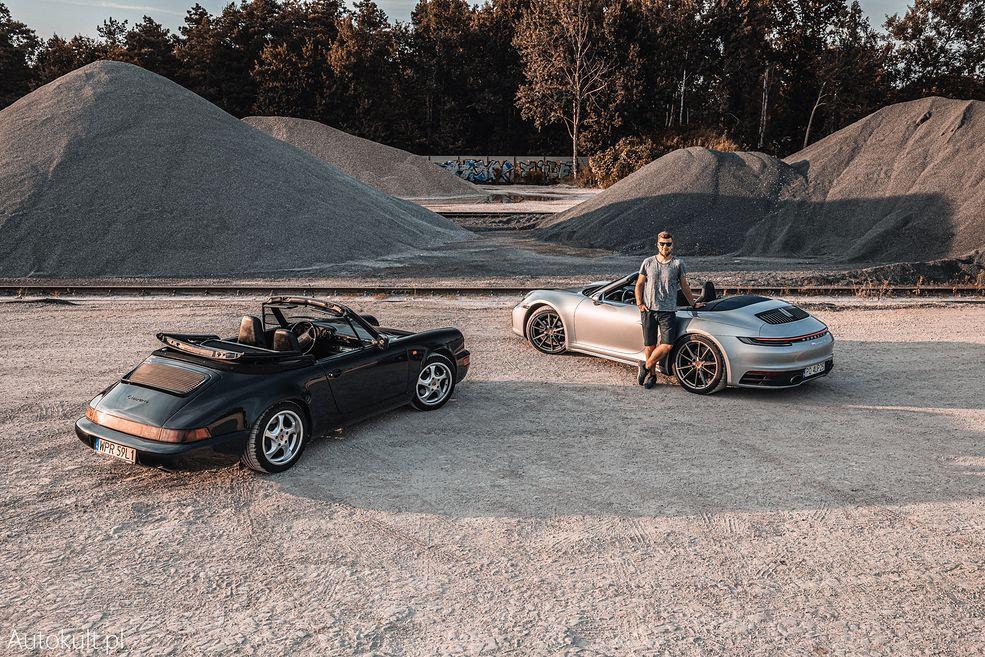 Porsche 911 992 Carrera 4S Cabrio vs. 911 964 Carrera 2 Cabrio