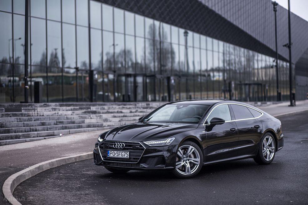Audi A7 to limuzyna ze sportowym zacięciem