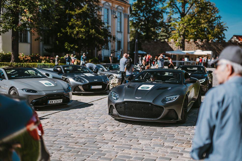 Aston Martin DBS Superleggera był największą gwiazdą tegorocznej edycji wyprawy
