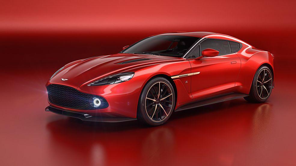 Aston Martin Vanquish Zagato Concept (2016)