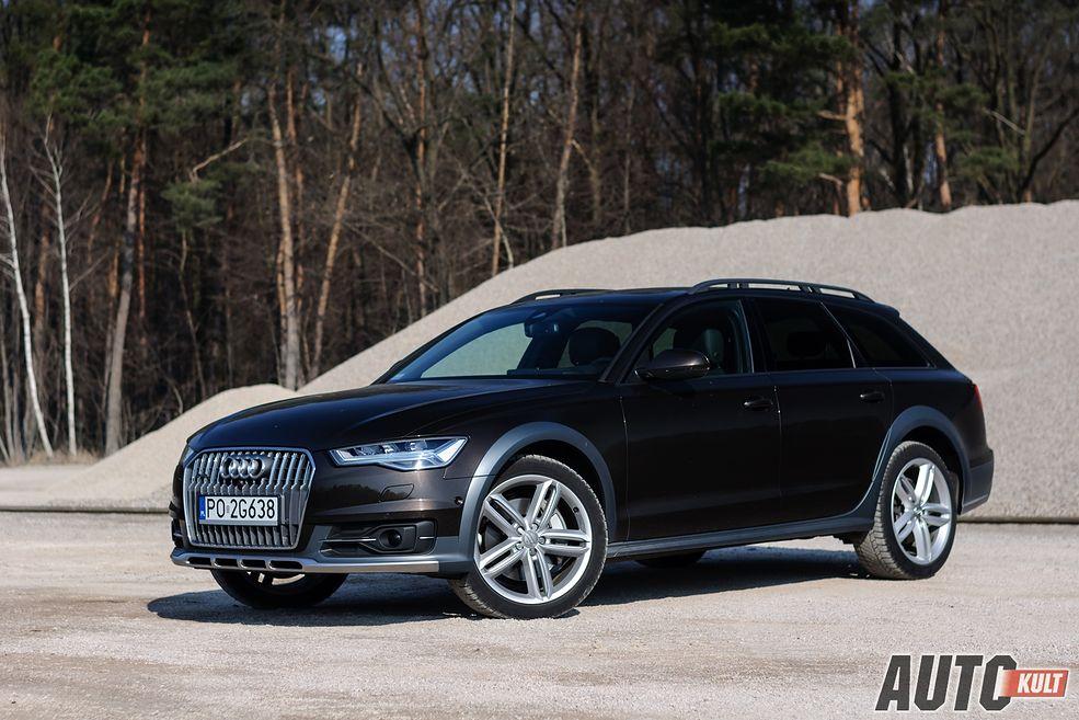 Audi A6 3 0 Tdi Tiptronic Quattro Avant Vs Allroad Test Por 243 Wnanie Opinia Spalanie Cena