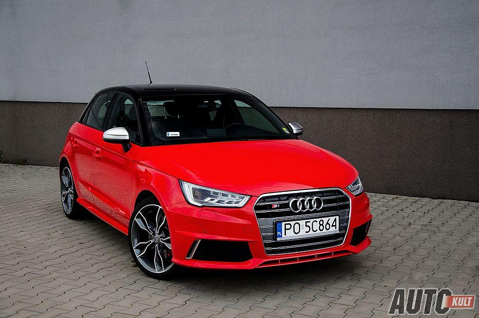 audi s1 sportback test galeria. Black Bedroom Furniture Sets. Home Design Ideas