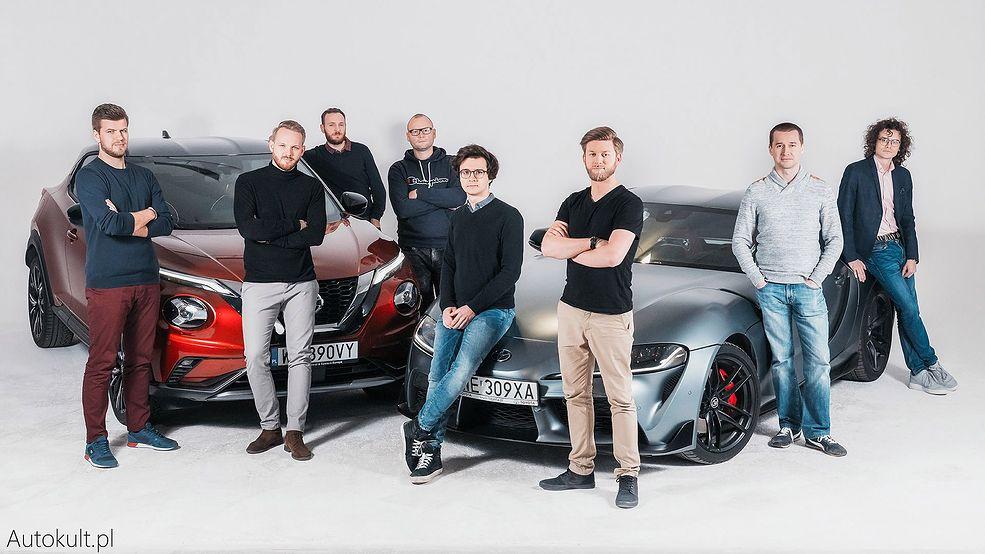 Niepełny skład redakcji Autokult.pl i AutoCentrum.pl