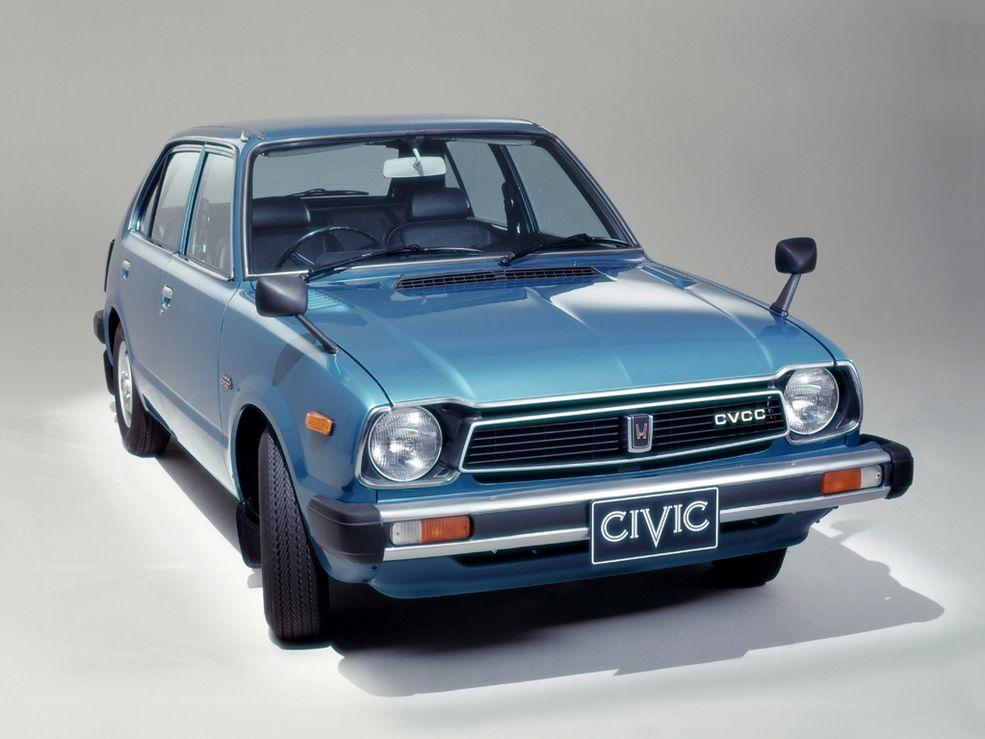 Honda Civic pierwszej generacji zadebiutowała w 1971 roku