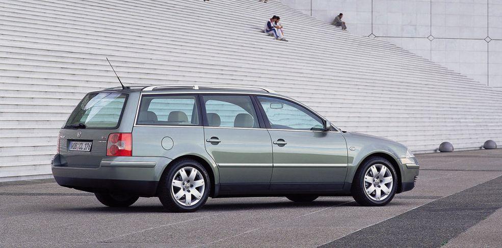 Pomimo upływu 20 lat od premiery VW Passata po liftingu, samochód wciąż wygląda atrakcyjnie