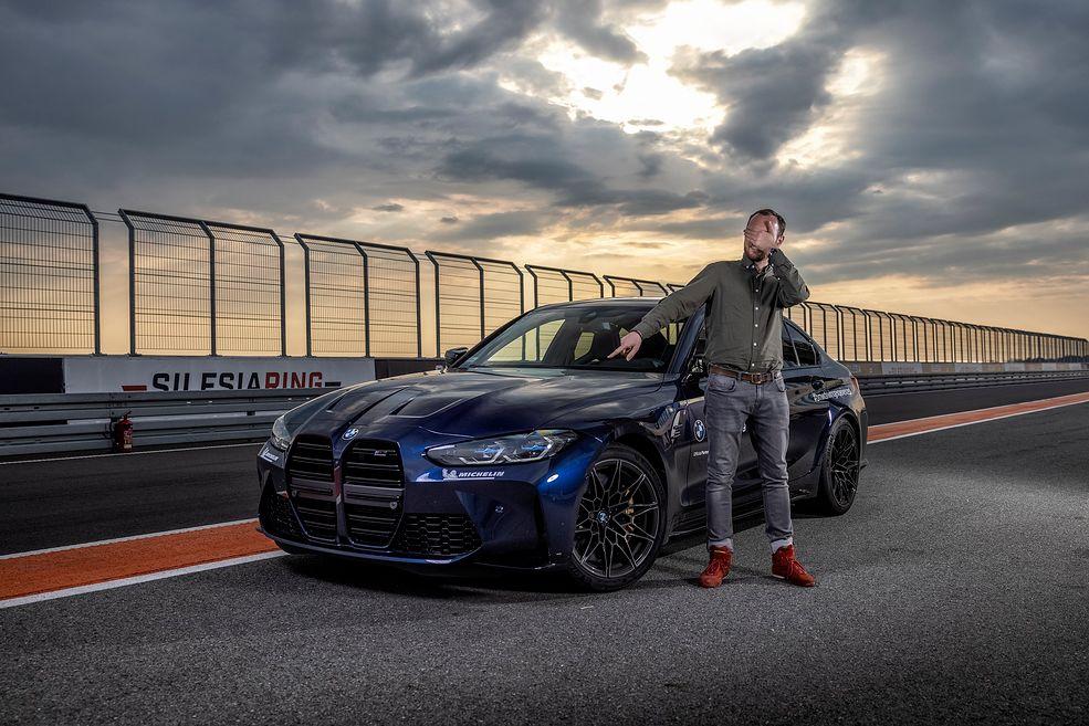 BMW M3 Competition z autorem tekstu